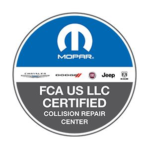 Fiat Chrysler Certified Body Shop