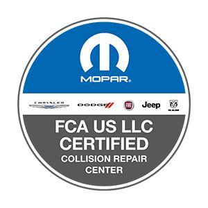 Fiat Chrysler Certified Body Shop