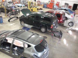 collision center shop